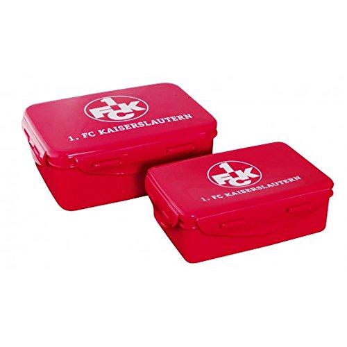 1.FCK- Brotzeitdose - Brotdose - Lunchbox 2er-Set - 1.FC Kaiserslautern