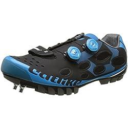 Catlike Whisper MTB 2016, Zapatillas de Ciclismo de montaña Unisex Adulto, Negro (Black/Blue), 45 EU