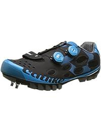Catlike Whisper Mtb 2016, Zapatillas de Ciclismo de Montaña Unisex Adulto, Azul,Negro, 45 EU