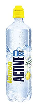 Active O2 Lemon Natural, 8er Pack, Einweg (8 x 750 ml)