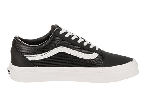 Vans Old Skool, Scarpe Running Donna Nero (Black/blanc De Blancmoto Leather)
