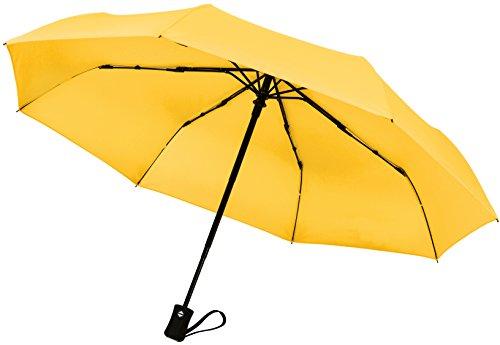 crown-coast-unisex-kinder-kinder-unisex-erwachsene-damen-herren-taschenschirm-soft-yellow-schwarz-tu