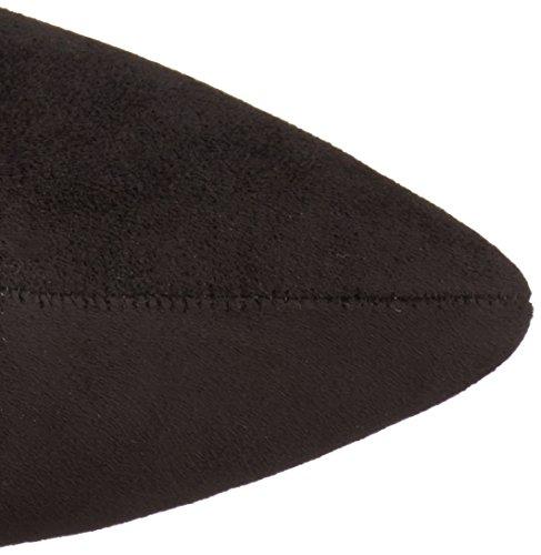Spitz Eileen hoch Mode Wildleder Faux Stiefel Knie Schwarz BCBGeneration Uw5fqOdO