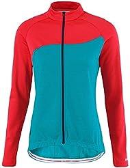 Scott Endurance AS 10 Damen Winter Fahrrad Trikot blau/rot 2016