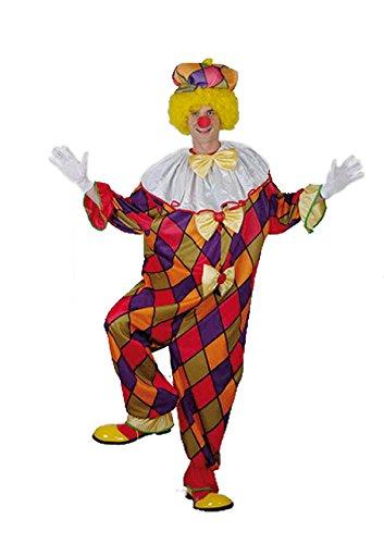 Imagen de el carnaval disfraz bufon rombos adulto
