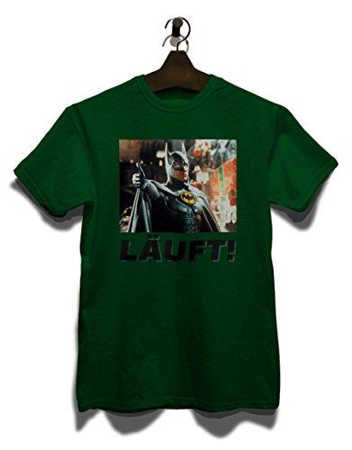 Laeuft 11 T-Shirt Dunkel Grün