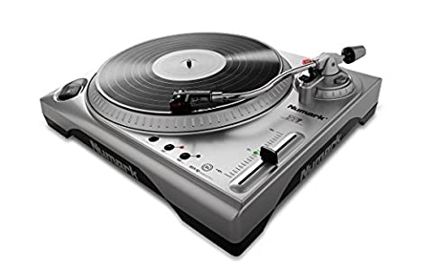 Numark TTUSB 3-Speed DJ Turntable with Adjustable Pitch and Anti-Skate