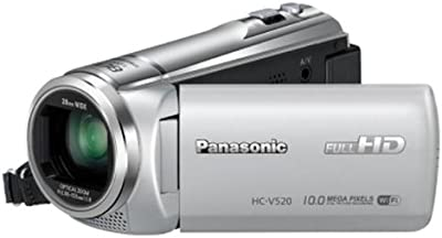 Panasonic HC de v520eg de S Videocámara (7,6cm (3pulgadas) pantalla LCD, sensor MOS, resolución de fotos de 10Mpx, Full HD, zoom óptico de 50. Zoom, USB 2.0)