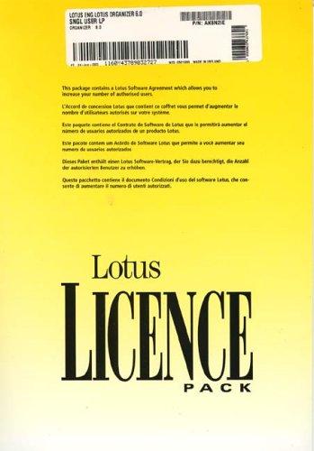 Lotus Organizer V6.0 1-User