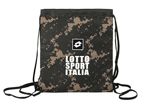 Lotto - Saco-mochila con diseño Italia, 35 x 40 cm (Safta 611520196)