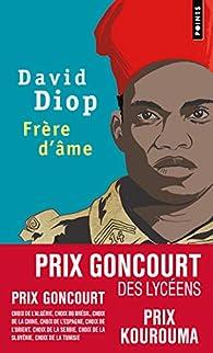 Frère d'âme par David Diop