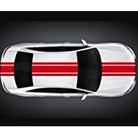 "Viper Stripes 5.51""x 196.85"" Rally Car Racing Stripes Bumper Sticker Viper 2N004 - Royal Blue gloss"