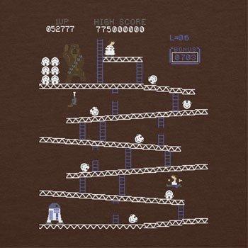 NERDO - Chewie Kong - Herren T-Shirt Braun