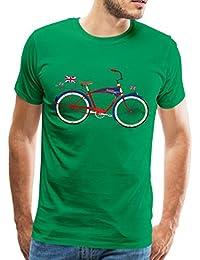 Spreadshirt British Bicycle Men's Premium T-Shirt