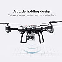 Price comparsion for FairytaleMM S13 4 Channel 6 Axes Long Endurance Remote Control Quadcopter Camera Drone UAV Positioning System Aircraft with 0.3MP Camera(Color:silver)