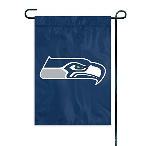 Party Animal Seattle Seahawks Garden Flag by Party Animal
