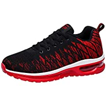 wholesale dealer 00630 f2d27 PADGENE Baskets Air Mode Mixte Adulte Chaussures de Sports Homme Femme  Sneaker Course Fitness Multi-