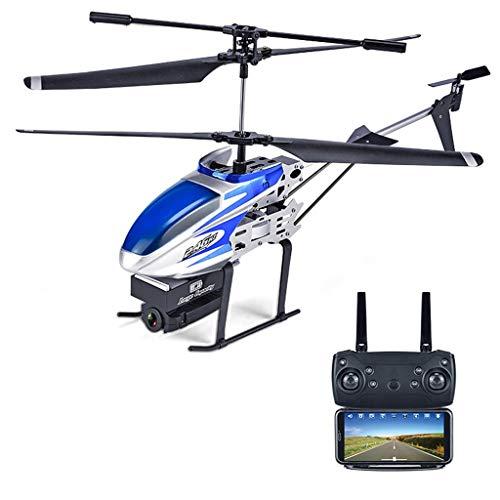 Bescita6 2,4 GHz 3.5CH RC 0.3MP WiFi Drohne Kamera FPV RC Hubschrauber Quadcopter Ferngesteuerter Hubschrauber mit Luftdruck-Echtzeit-Luftbildfotografie (300.000 Pixel) (blau A)