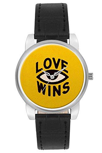 Women's Watch, BigOwl Love Wins Designer Analog Wrist Watch For Women - Gifts for her dials