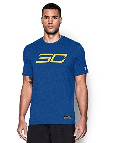 Da uomo Under Armour SC30B2B mvp t-shirt Royal