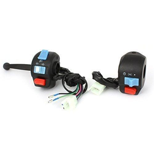 sourcingmap® ATV Moto Horn Sinistro E Destro Manubrio Starting Interruttore Controllore