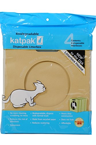 Katpak Disposable Cat Litter Tray x 5 3