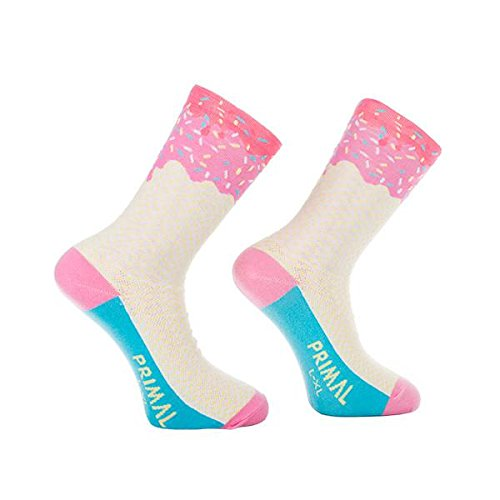 Primal Wear Damen Ice Cream Cycling Bike Socken, Mehrfarbig, Size 5-9/Small/Medium (Primal Wear-air)