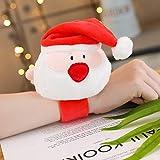 Wegji Christmas Cracking Ring Plush Toys Santa Claus Deer Tree Doll Items