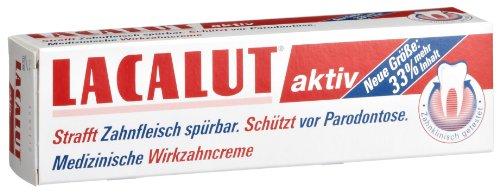Lacalut Aktiv Zahncreme, 3er Pack (3 x 100 ml)