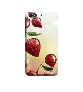 Ebby Premium Printed 3D Designer Back Case Cover For Huawei Honor 4c (Premium Designer Cae)
