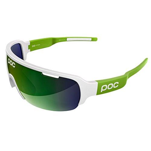 POC DO Half Blade Sonnenbrille, Unisex Erwachsene Einheitsgröße Grün, weiß