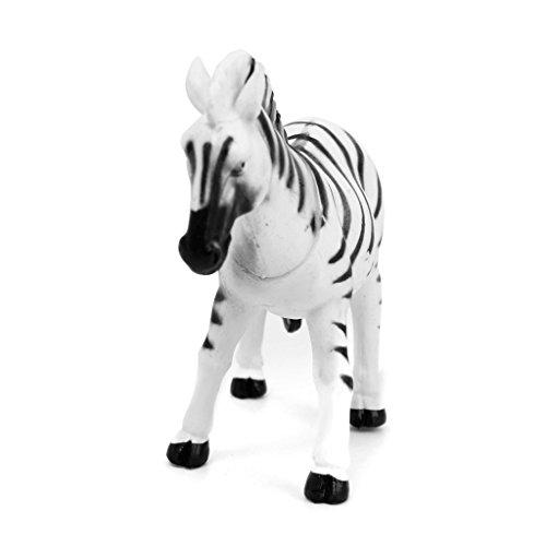 6 Stück Kunststoff Wild Tiere Spielzeug Modell - 5