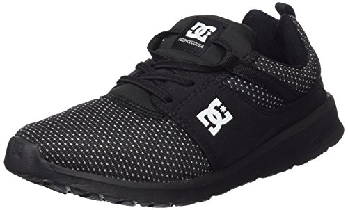 DC Shoes  Heathrow Se, Sneakers Basses Garçon Noir (Kgo)