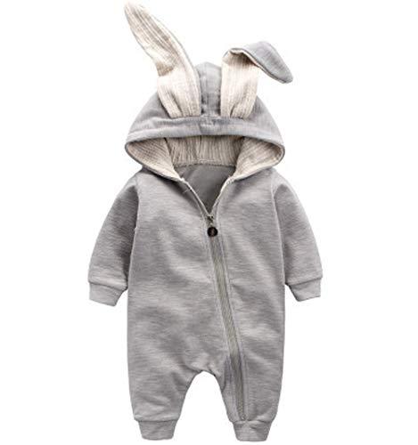 Jungen Mädchen Strampler Overall Jumpsuit Kleinkind Bodysuits Outfits Einteiler Jacke 0-18 Monate Neugeborenen Schlafstrampler Säugling ()