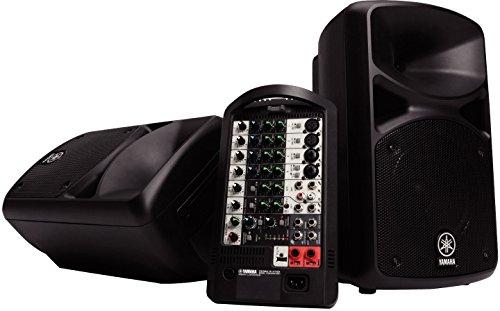 Yamaha stagepas400i Lautsprecher für MP3& iPod schwarz (Yamaha Ipod)