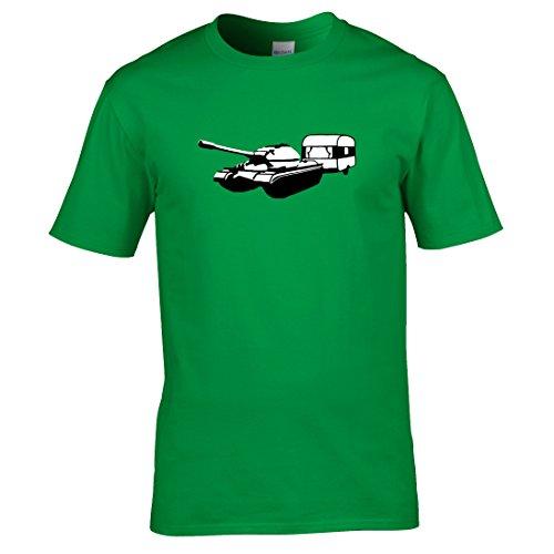 Tank und wohnwagen T-shirt Kellygrün