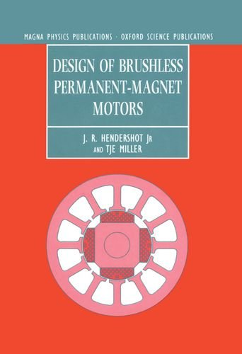 Price comparison product image Design of Brushless Permanent-magnet Motors (Monographs in Electrical and Electronic Engineering)