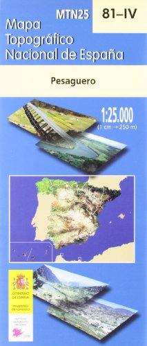 Mapa pesaguero 81-4 1:25000