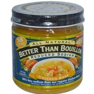 Better Than Bouillon Chicken Base Reduced Sodium 8oz 8 Oz Bouillon
