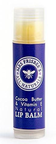 Natural Cocoa Butter & Vitamin E Lip Balm (5g)