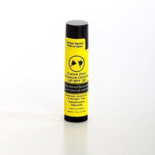 Rubber Ducky Clear Lip SPF 30 Vanilla w/ Stevia