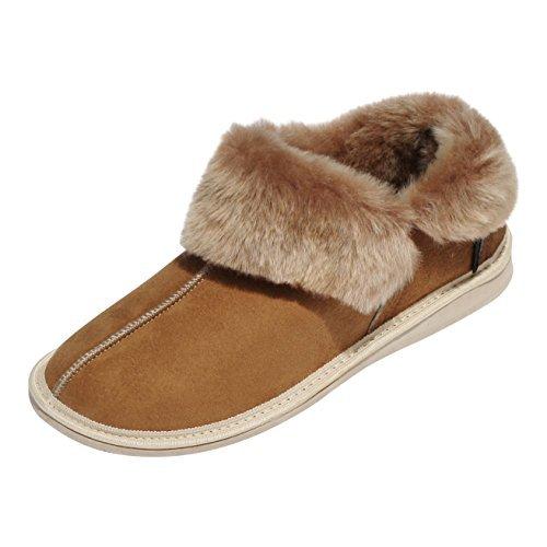 der-Fellmann Kanada Damen Lammfell- Mokassin Schuhgröße EUR 42
