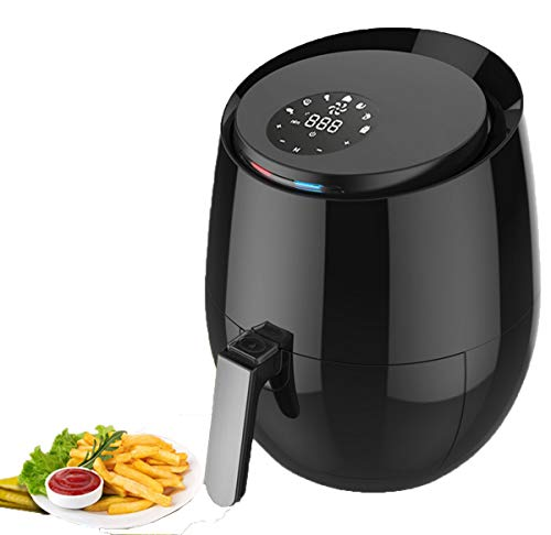 NANXCYR 3.6L Air Fryer Appliance mit 7-in-1 Öl-Free-Modus | Non-Stick Pan & Korb, Digital Touch Screen zum Kochen gesünder 7 Non-stick-liner