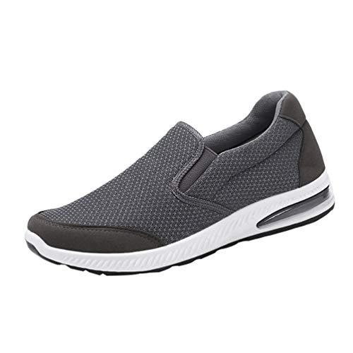 MisFox Sneakers Donna Uomo Scarpe da Running Scarpe da Ginnastica Sport Outdoor Fitness Leggere e Traspiranti Mesh Scarpe da Corsa