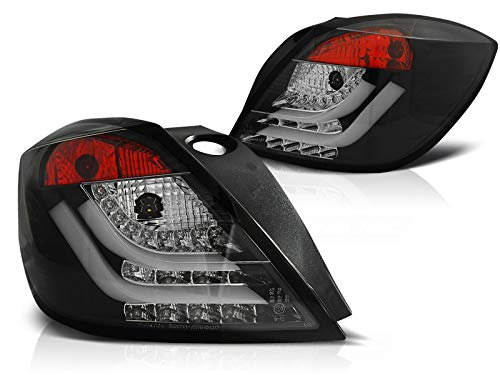 Lighttube Rückleuchten Astra H GTC BJ 03.04.-09 black