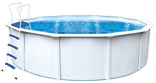Steinbach Nuovo de Luxe II Stahlwandpool Set, Ø 360 x 120 cm, 012141