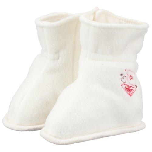 Cozy N Rozy XCFES012 - Berretto/Schüchen, colore: crema bianco (Cream, cre) cremeweiss 19-22 Mesi
