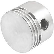 Tono plateado de aleación de aluminio compresor de aire de repuesto 47 mm de diámetro de