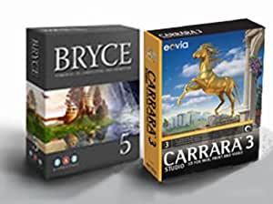 Bryce 5 englisch / Carrara Studio 3 Bundle WIN/MAC