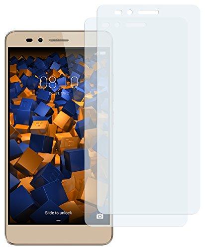 mumbi Schutzfolie kompatibel mit Huawei Honor 5X Folie klar, Bildschirmschutzfolie (2x)